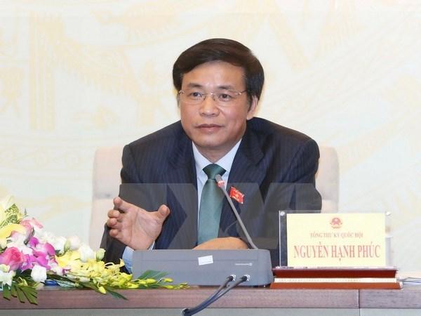 Le bureau de l'AN annonce les resultats de sa 3e session de la XIVe legislature hinh anh 1