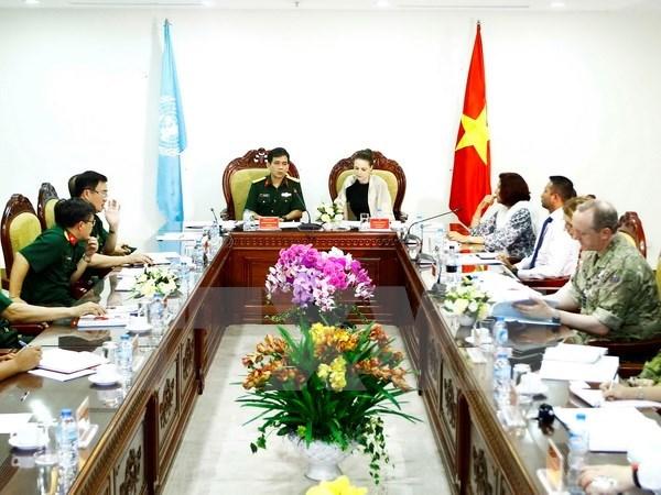 Le Vietnam pret a participer aux operations de maintien de paix de l'ONU hinh anh 1