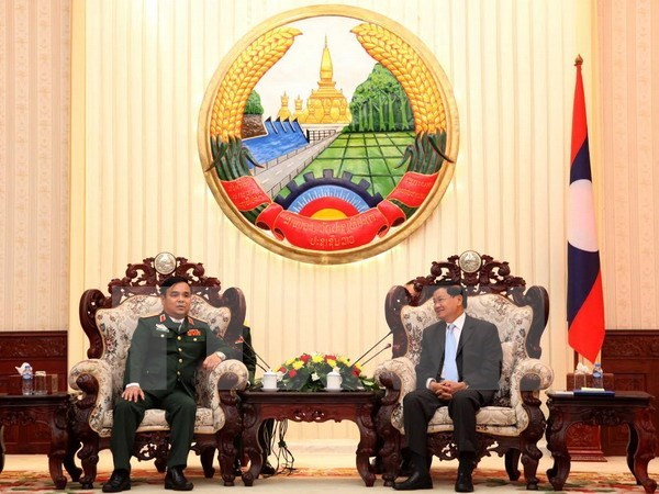 Le PM laotien apprecie les acquis des comites de travail special vietnamien et laotien hinh anh 1