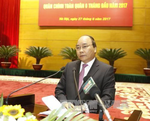 Le Premier ministre Nguyen Xuan Phuc souligne les taches de l'Armee populaire du Vietnam hinh anh 1