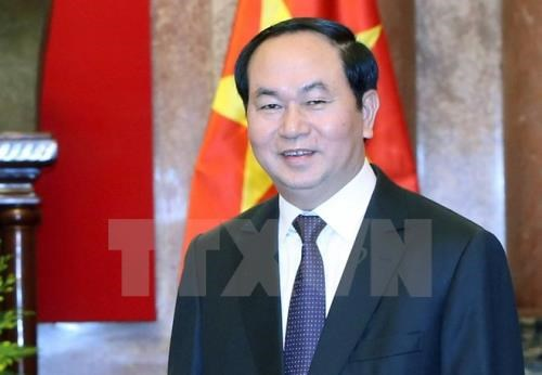 Le Vietnam fait grand cas de ses relations avec la Russie, dit le president Tran Dai Quang hinh anh 1