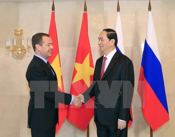 Le Vietnam souhaite approfondir le partenariat strategique integral avec la Russie hinh anh 1