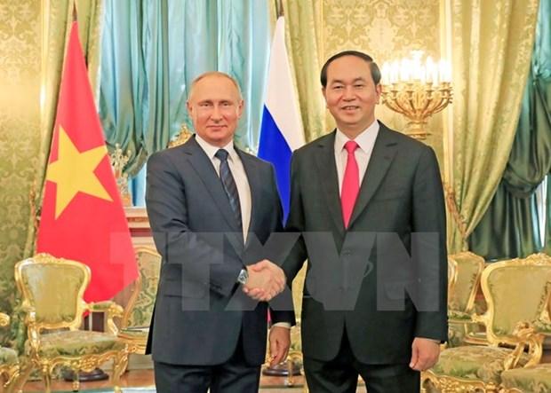 Le Vietnam et la Russie vont dynamiser leur partenariat strategique integral hinh anh 1