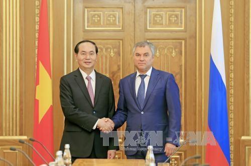 Vietnam et Russie s'orientent vers le commerce bilateral de 10 milliards de dollars hinh anh 1