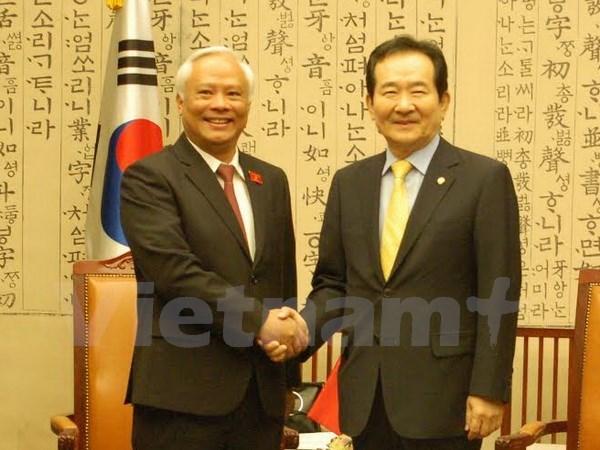 Le Vietnam et la R. de Coree renforcent leur cooperation legislative hinh anh 1