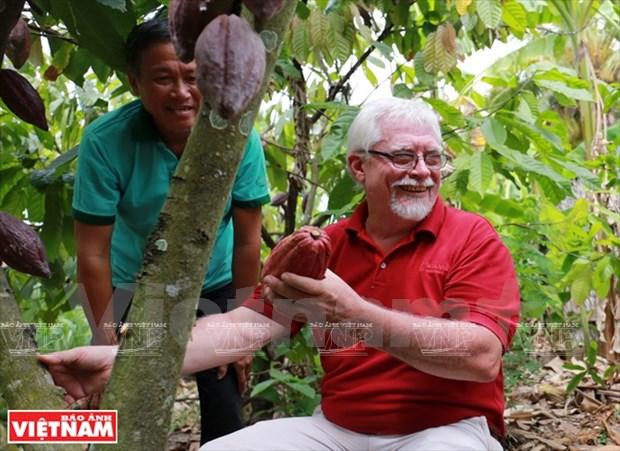 Le belge Belvie Chocolate fond de plaisir pour le cacao vietnamien hinh anh 2