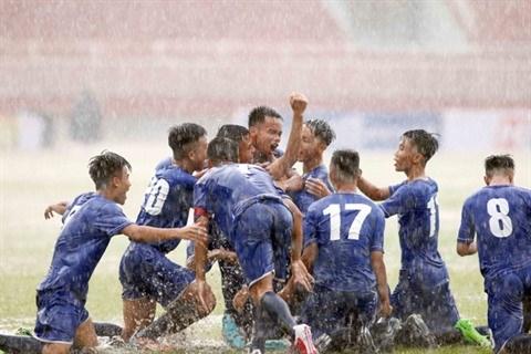 Le Championnat de football U17 sert de tremplin aux jeunes joueurs hinh anh 1