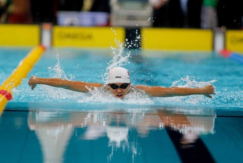 La nageuse Phuong Tram: