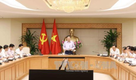 Vice-PM Vuong Dinh Hue :
