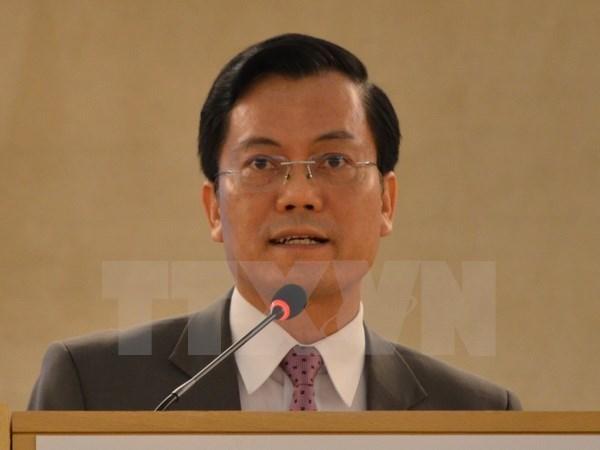 Vietnam-Canada: premiere consultation politique de niveau de vice-ministre des AE hinh anh 1