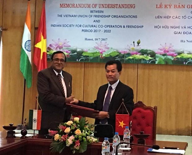 Intensifier les relations d'amitie et de cooperation Vietnam-Inde hinh anh 1