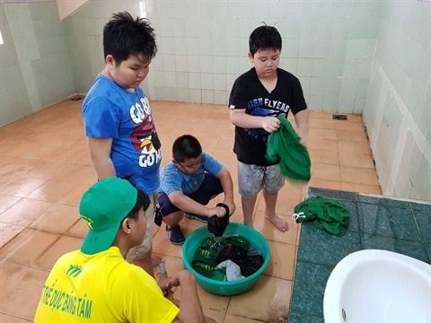 Une classe de sport pour aider nos enfants a bien grandir hinh anh 2