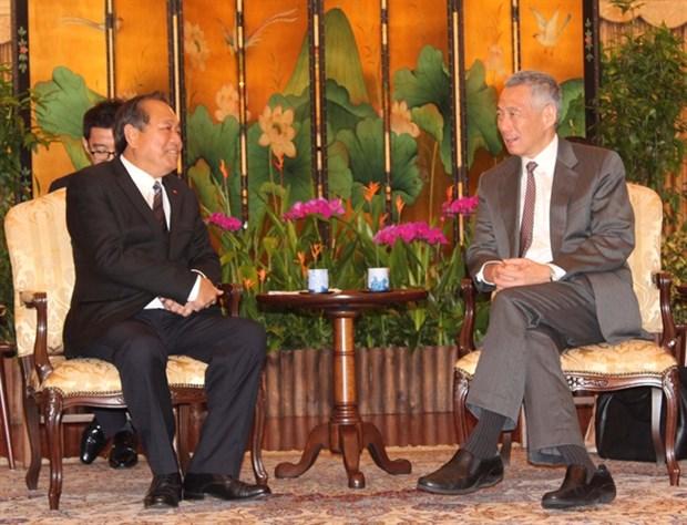 Le Vietnam et Singapour unis contre le terrorisme et l'extremisme violent hinh anh 2
