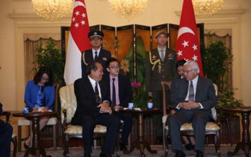 Le Vietnam et Singapour unis contre le terrorisme et l'extremisme violent hinh anh 1