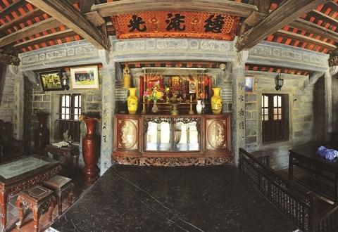 A Ninh Binh, une maison en pierre centenaire qui ne laisse pas de marbre hinh anh 3