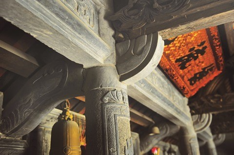 A Ninh Binh, une maison en pierre centenaire qui ne laisse pas de marbre hinh anh 4