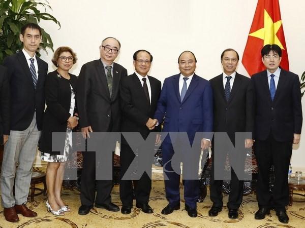 Le Premier ministre Nguyen Xuan Phuc recoit le secretaire general de l'ASEAN hinh anh 1