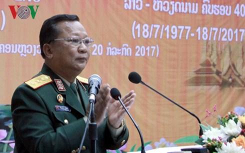 Le Laos celebre ses relations speciales avec le Vietnam hinh anh 1