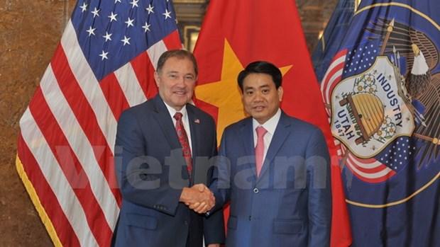 Hanoi veut renforcer ses liens avec l'Utah et San Francisco hinh anh 3