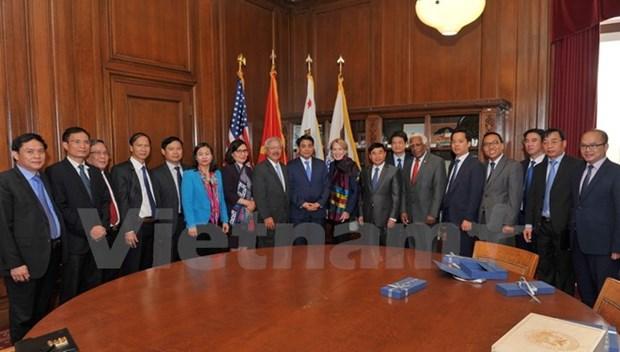 Hanoi veut renforcer ses liens avec l'Utah et San Francisco hinh anh 2
