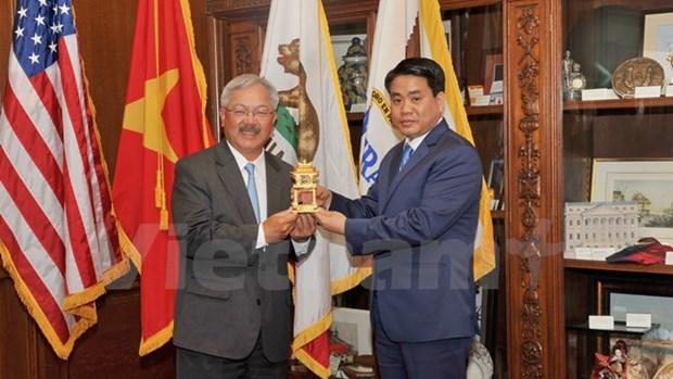 Hanoi veut renforcer ses liens avec l'Utah et San Francisco hinh anh 1