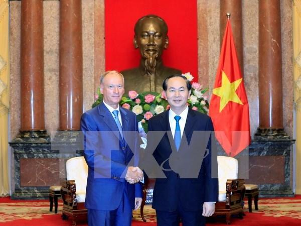 Le Vietnam souhaite renforcer la cooperation dans la securite avec la Russie hinh anh 1