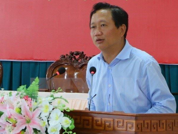 L'ancien president de PVC, Trinh Xuan Thanh, se rend a la police hinh anh 1