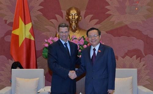 Le Vietnam soutient toujours la promotion de la cooperation avec les entreprises americaines hinh anh 1