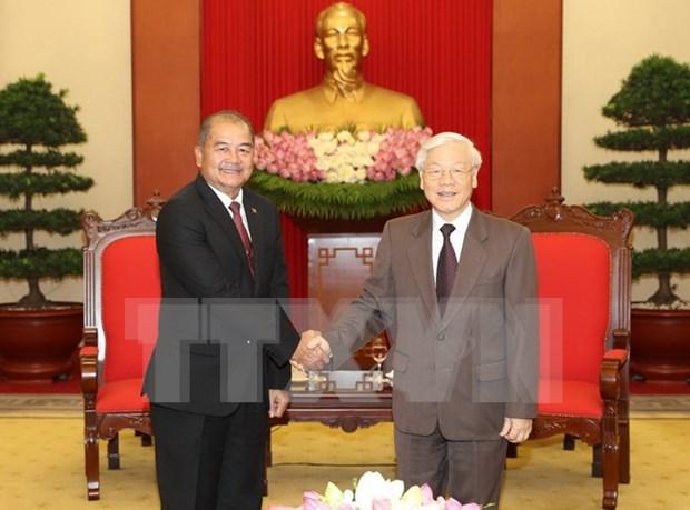 Vietnam et Laos renforcent la cooperation pour promouvoir l'œuvre de renouveau hinh anh 1