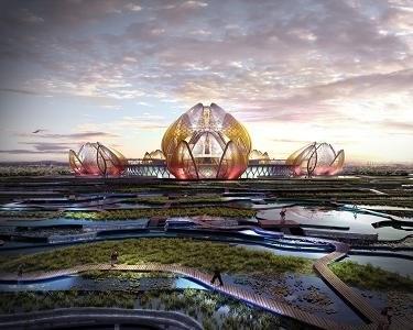 La capitale Hanoi aura un theatre en forme de lotus hinh anh 1