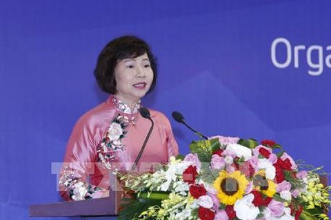 Au cours de l'enquete, la vice-ministre Ho Thi Kim Thoa
