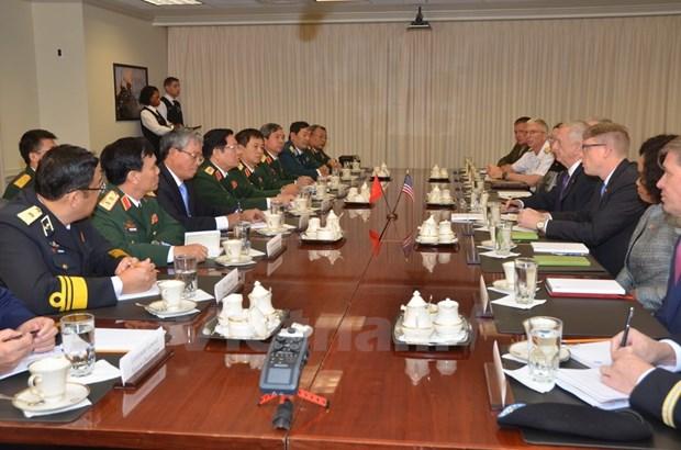 Vietnam-Etats-Unis: pour une cooperation defensive a hauteur du partenariat integral hinh anh 2