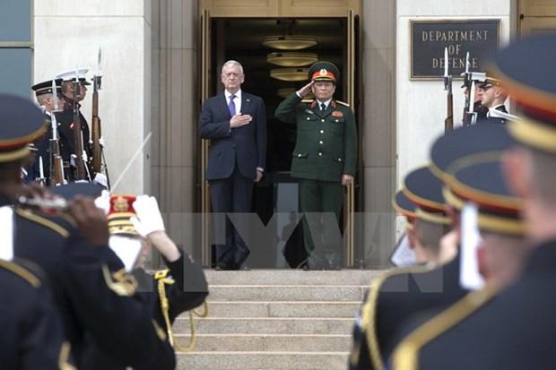 Vietnam-Etats-Unis: pour une cooperation defensive a hauteur du partenariat integral hinh anh 1