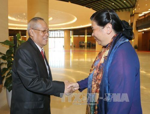 Le Vietnam et le Cambodge vont renforcer leur cooperation parlementaire hinh anh 1