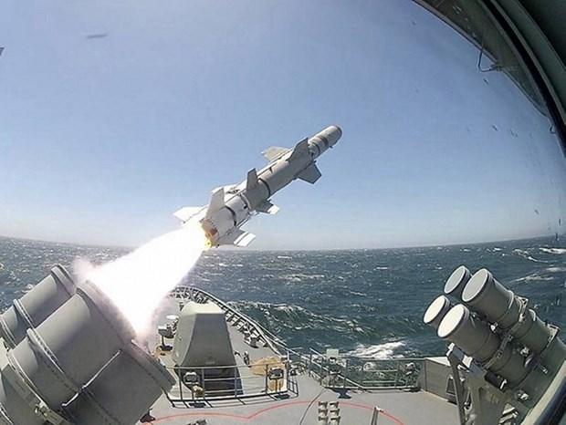 Les Etats-Unis vont vendre des missiles Harpoon a la Thailande hinh anh 1