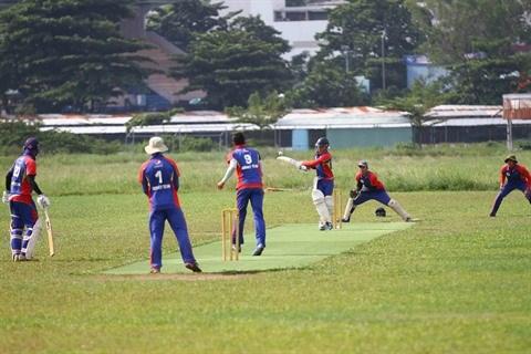 Le cricket vietnamien fait ses debuts regionaux aux SEA Games 2017 hinh anh 1