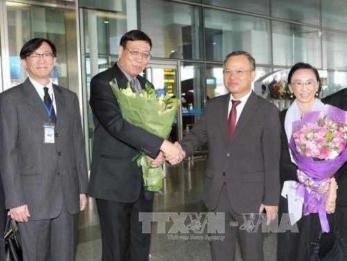 Le president de l'Assemblee nationale legislative de Thailande se rend au Vietnam hinh anh 1