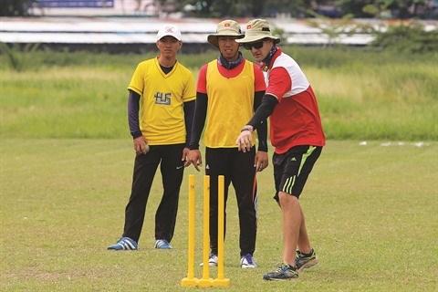 Le cricket vietnamien fait ses debuts regionaux aux SEA Games 2017 hinh anh 2