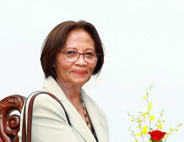 Le vice-PM Pham Binh Minh recoit l'ambassadrice du Timor Oriental hinh anh 1