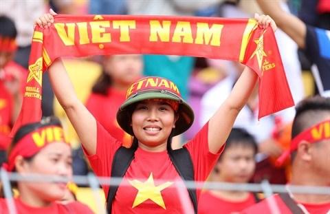 Football : Le Onze vietnamien commence les Jeux d'Asie du Sud-Est avec une large victoire hinh anh 2