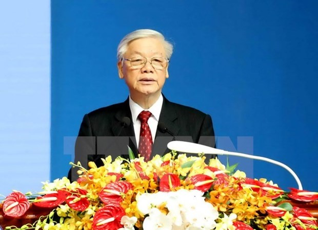Le leader du PCV Nguyen Phu Trong effectuera des visites en Indonesie et au Myanmar hinh anh 1