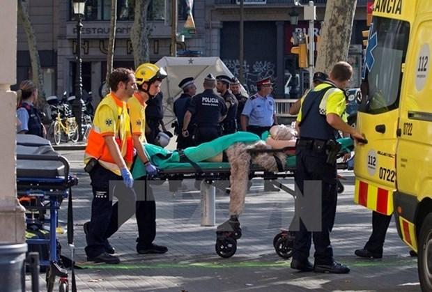 Attentat de Barcelone: des dirigeants vietnamiens envoient leurs messages de condoleances hinh anh 1