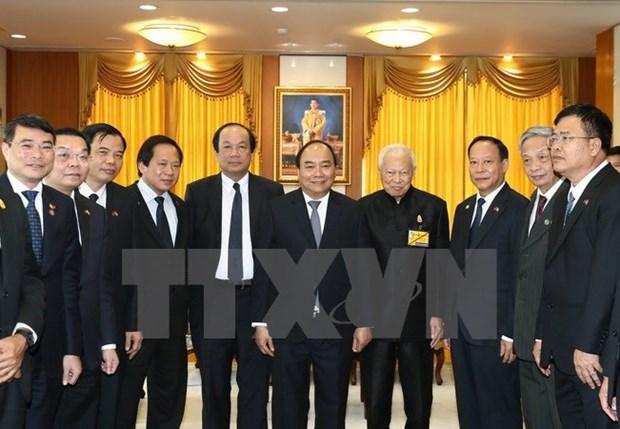 Le Premier ministre Nguyen Xuan Phuc rencontre des dirigeants thailandais hinh anh 1