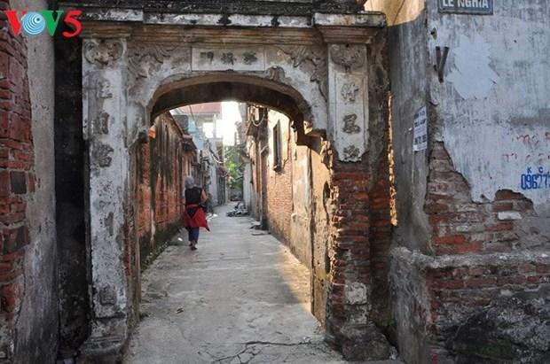 L'architecture franco-vietnamienne au village de Cu Da hinh anh 2
