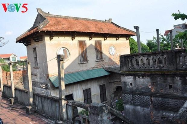 L'architecture franco-vietnamienne au village de Cu Da hinh anh 3
