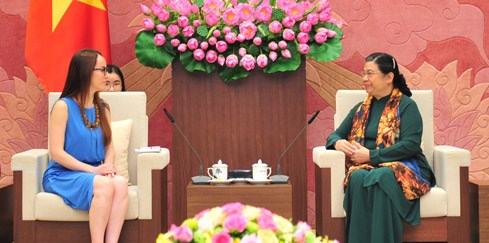 La presidente de la Commission des Affaires etrangeres du Senat mexicain au Vietnam hinh anh 2