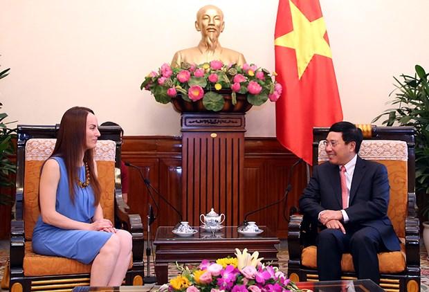 La presidente de la Commission des Affaires etrangeres du Senat mexicain au Vietnam hinh anh 1