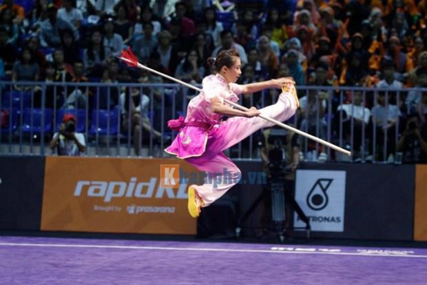 SEA Games 29: le Vietnam decroche quatre nouvelles medailles d'or hinh anh 1