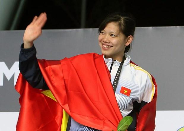 SEA Games 29: le Vietnam decroche quatre nouvelles medailles d'or hinh anh 3