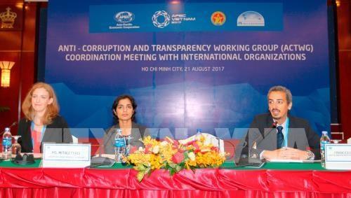 Lutte anti-corruption: l'ACTWG se reunit avec les organisations internationales hinh anh 1